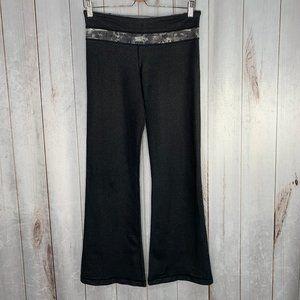Lululemon Manifesto Black Denim Slub Groove Pants